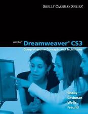 Adobe Dreamweaver CS3: Comprehensive Concepts and Techniques (Available Titles..