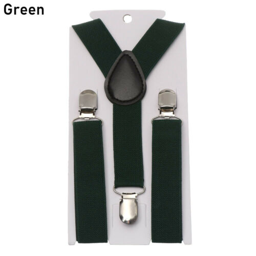 Cute Elastic Suspender and Bow Tie Sets for Boys Girls Kids