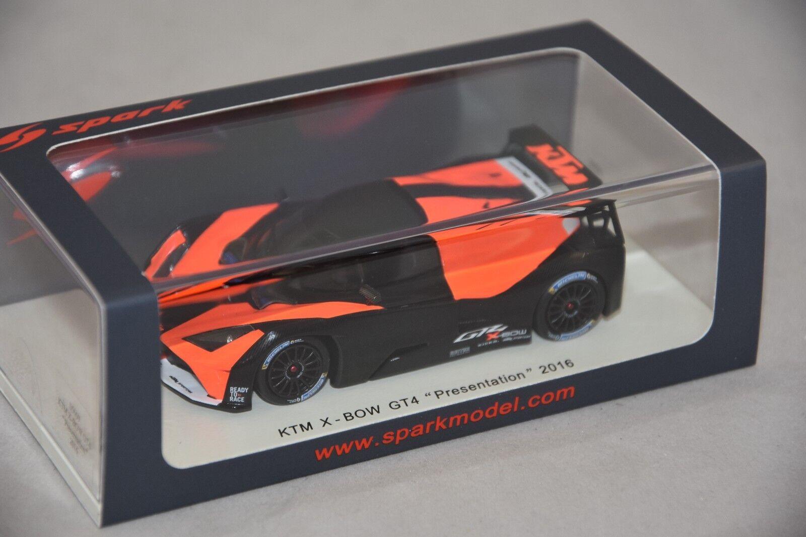 Spark S5660 - KTM X - Bow GT4 Presentation 2016   1 43
