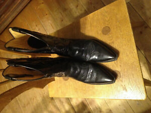 Boots Gr condizioni 5 Black Sendra Cowboy Western Boots Ottime fvpSwnqaAn