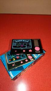 TOMY-TECHNOBOY-Puck-man-Used-Retro-with-box-Tested-and-works-well-Made-in-Japan