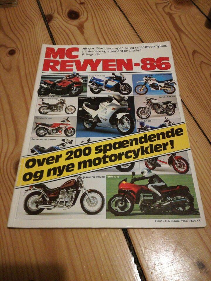 Bøger og blade, MC Revyen 86
