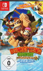 Donkey-KONG-COUNTRY-Tropical-Freeze-NINTENDO-switch-NUOVO-amp-OVP-versione-tedesca