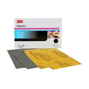 3M 2021 3M 02021 Wet or Dry Sheet 5 1//2 x 9 inch 1000 Grit