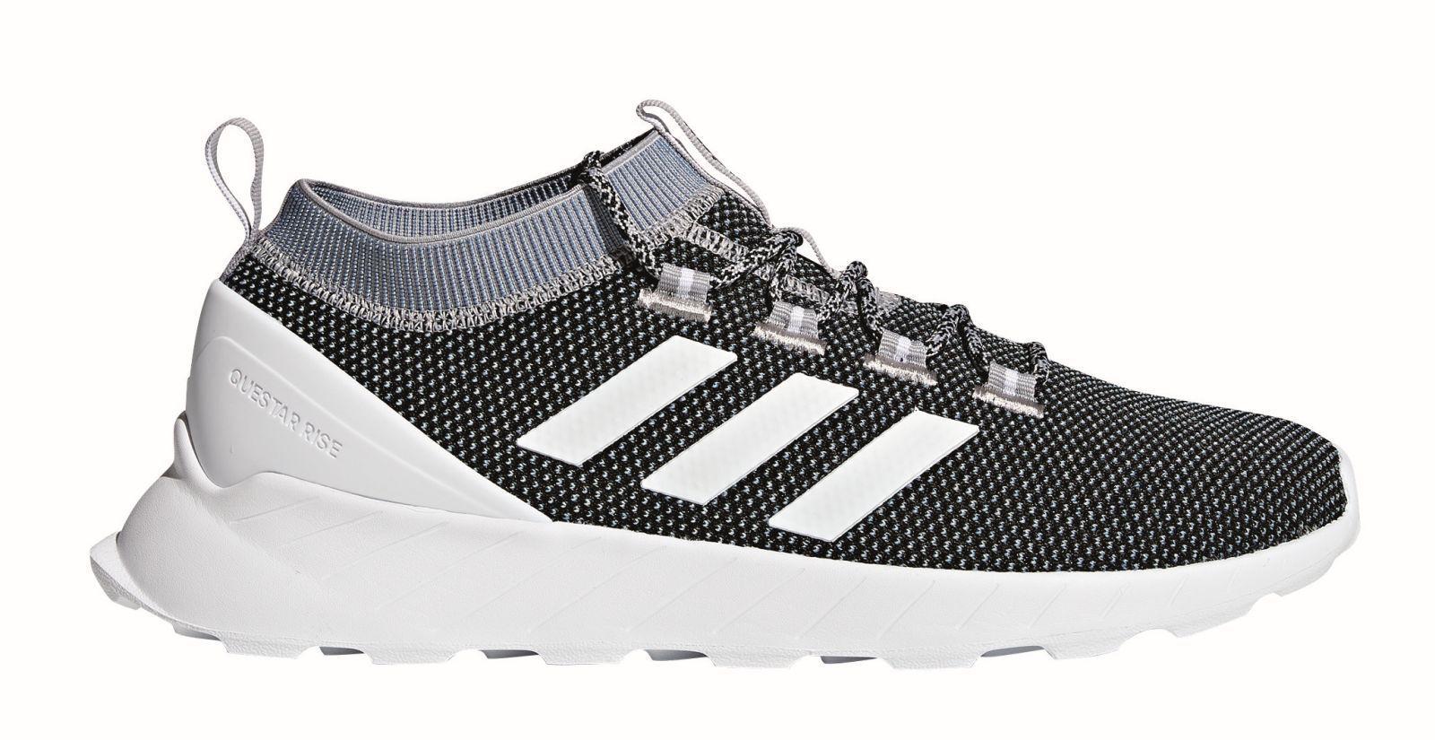 adidas Core Herren Freizeitschuh QUESTAR RISE schwarz weiß grau