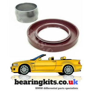 Details about BMW M3 E46 DIFF PINION SEAL & CRUSH SPACER TO REPAIR  DIFFERENTIAL OIL LEAKS
