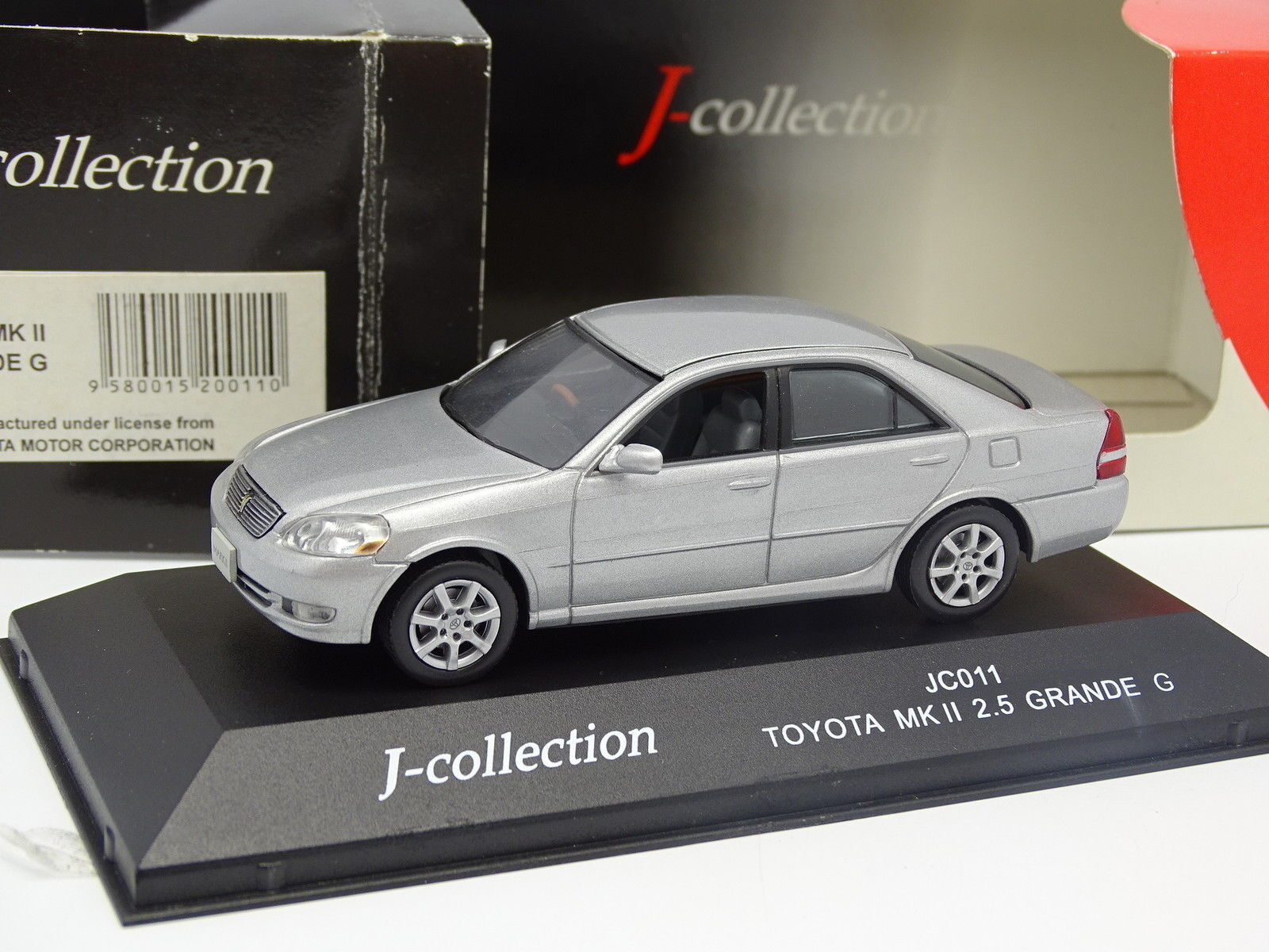 J collection 1 43 - toyota mkii 2.5 large grey g