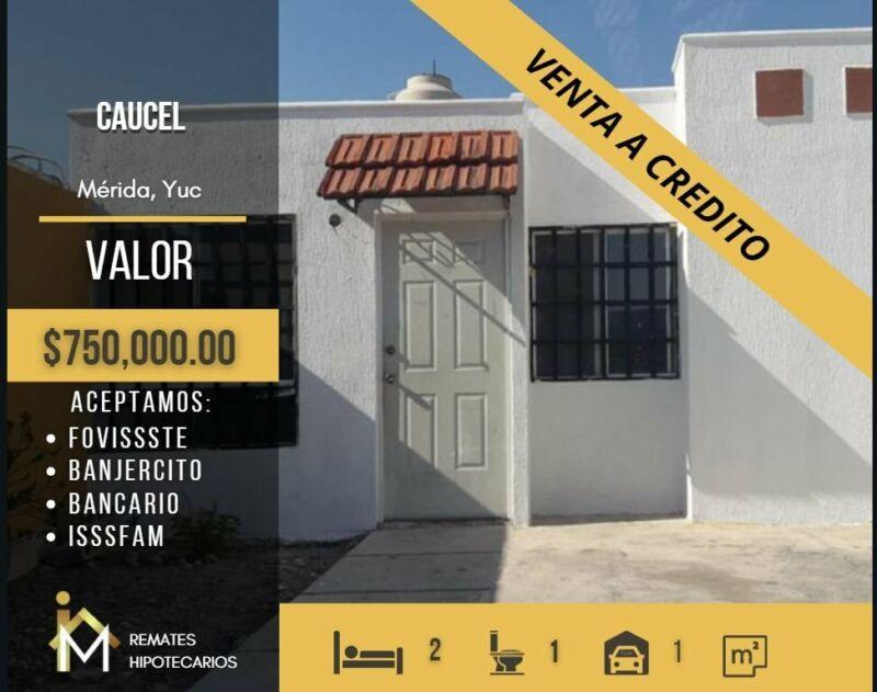 CASA EN VENTA, CAUCEL, MERIDA