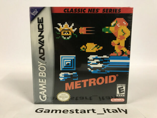 METROID CLASSIC NES SERIES - NINTENDO GAME BOY ADVANCE GBA - NEW SEALED NTSC