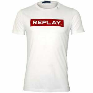 REPLAY Eagle Print Shirt Camiseta para Hombre