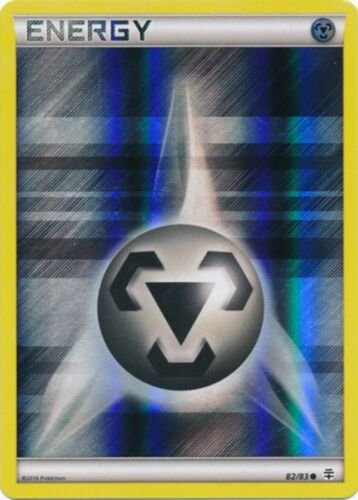 Common XY: Generations 82//83 Pokemon: Metal Energy Reverse Holo