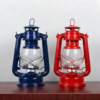 Retro Oil Kerosene Alcohol Lantern Camping Hurricane Lamp Candlestick Holder