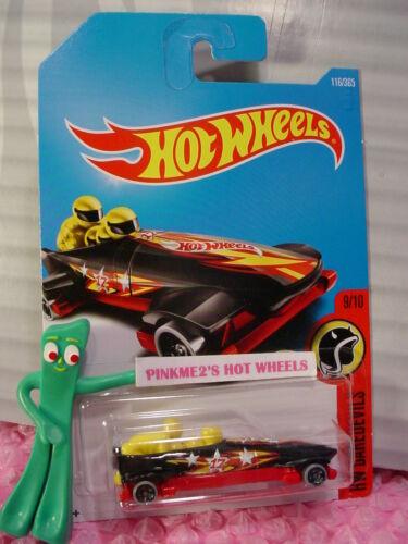 ICE SHREDDER #116✰Black//Red; 17;Yellow ✰HW DAREDEVILS✰2017 i Hot Wheels case E//F