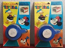 2 films Cinevisor Super 8 color Mupy 21-22 neufs blisters Walt Disney
