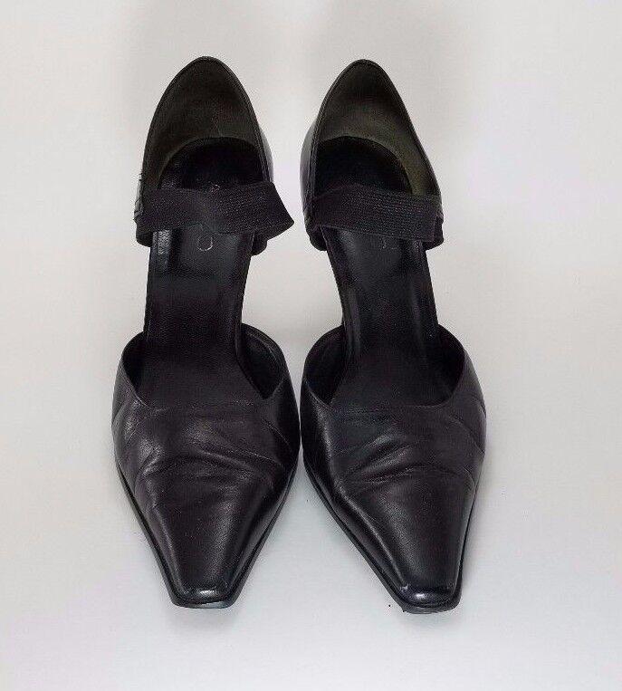 Aldo Pointed Toe Women's High (EU Heels Black Size 6.5 (EU High Size 37) 2f41fb