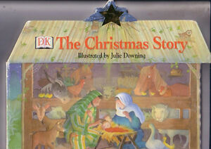 DK-THE-CHRISTMAS-STORY-Large-SHAPE-Board-Book-1999