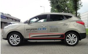 Cuerpo-Protector-de-moldeo-por-Puerta-Lateral-Molduras-Adorno-de-4-piezas-de-Ajuste-Hyundai-ix35