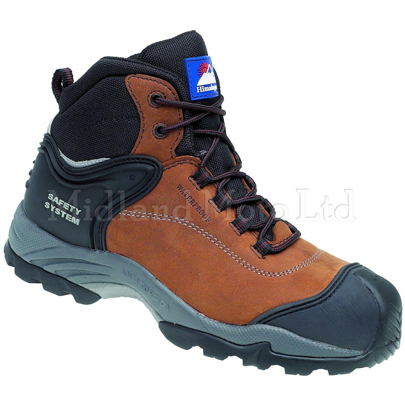 Magnum Hamburg 6.0 Waterproof Safety Composite Leather Mens Work Boots UK6-13