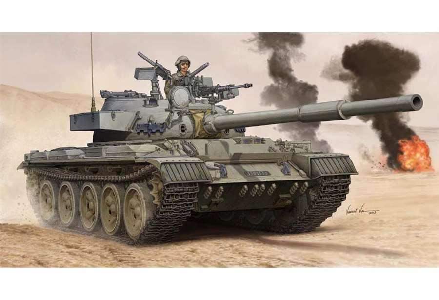 05576 Trumpeter 1 35 Model Israel Tiran-6 Main Battle Tank Armored Car Kit
