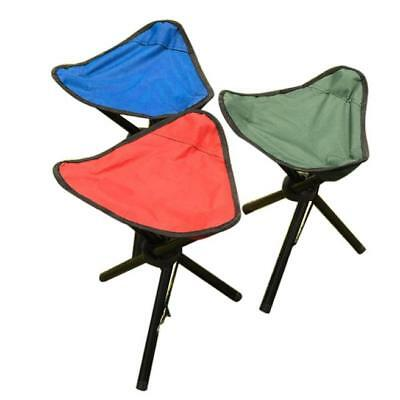 Camping Folding Stool Portable 3 Legs Chairs Tripod Seats
