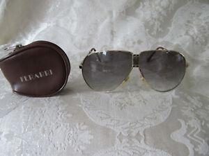 Vintage Ferrari Folding Sunglasses With Original Case Ebay