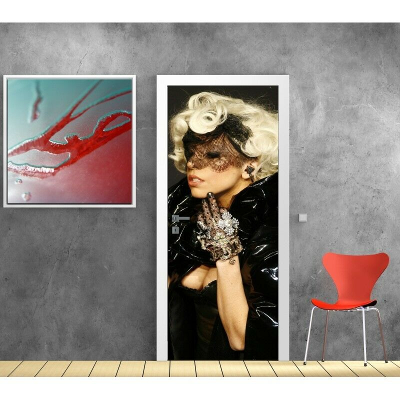 Poster Poster Porta Lady Gaga 773 Art Déco Adesivi