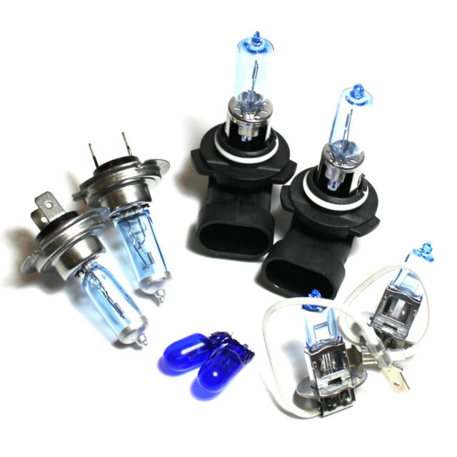 H1 HB3 501 55w Clear Xenon HID High//Low//Side Light Beam Headlight Bulbs
