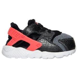 a83af466c89 La imagen se está cargando Nino-Ninos-Nike-Huarache -Run-Resbalon-en-Zapatillas-