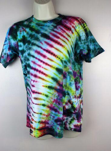 S-5XL Tie Dye T-Shirt Top Retro Festival Batik Rave Tye Die T Shirt Nepal TD1