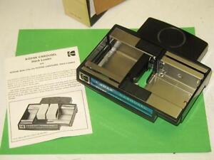 kodak carousel ektagraphic b 40 slide projector stack loader w