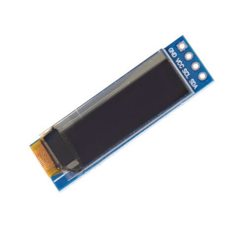 """IIC I2C 0.91/"""" 128x32 white OLED LCD Display Module 3.3v 5v For Arduino PIC BSCA"""