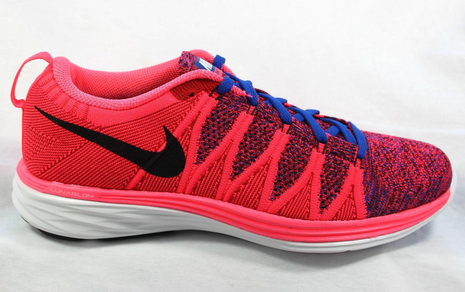 Nike Flyknit Lunar 2 Punzone/Blu/Rosso Corsa Tessile Scarpe Da Ginnastica Corsa Punzone/Blu/Rosso Uk - 8.5/43 a87499