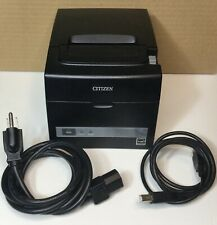 Citizen Tz30 M01 Thermal Pos Receipt Barcode Printer Ct S310iiubk Usb Amp Serial