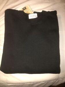 Men-s-Lee-Heavyweight-Sweat-Shirts-In-Black-Size-XL-50-50-Blend-42