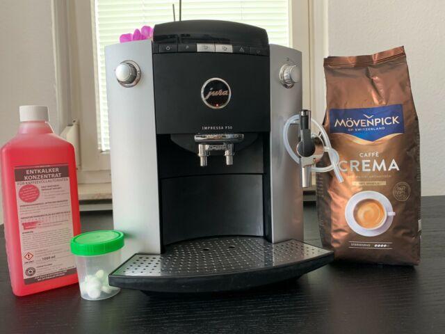 Jura Impressa F50 Kaffeevollautomat - 1 Jahr volle Gewährleistung + Zubehör