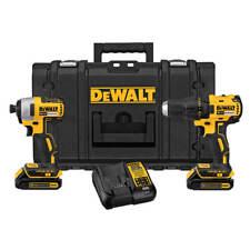 DeWALT DCKTS277C2R 20-Volt MAX Drill & Impact Driver TOUGH SYSTEM Combo Kit
