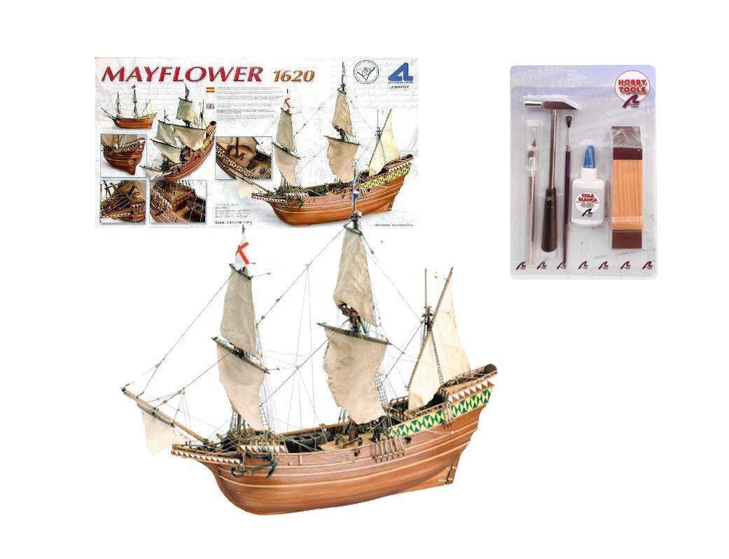 Artesania Latina 22451. Maquette bateau bois Mayflower 1620