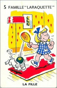 Raquette-Racket-Elastique-SPORT-PLAYING-CARD-CARTE-A-JOUER-HUMOR-HUMOUR-60s