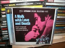 A WALK WITH LOVE AND DEATH,INTRADA FILM SOUNDTRACK,GEORGES DELERUE,LTD EDTION