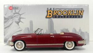 Brooklin-1-43-Scale-BRK101-1952-Muntz-Jet-Top-Down-Maroon