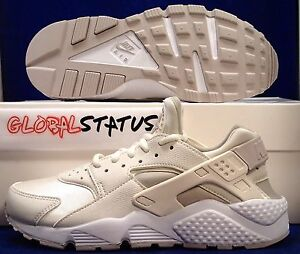 ee02cff6fca Details about WOMENS NIKE AIR HUARACHE RUN PHANTOM LT IRON ORE OATMEAL SHOES  634835 018 SZ 6.5