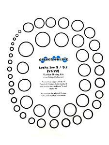 Lucky-Ion-5-V1-5-1-V2-Paintball-Marker-O-ring-Oring-Kit-x-4-rebuilds-kits