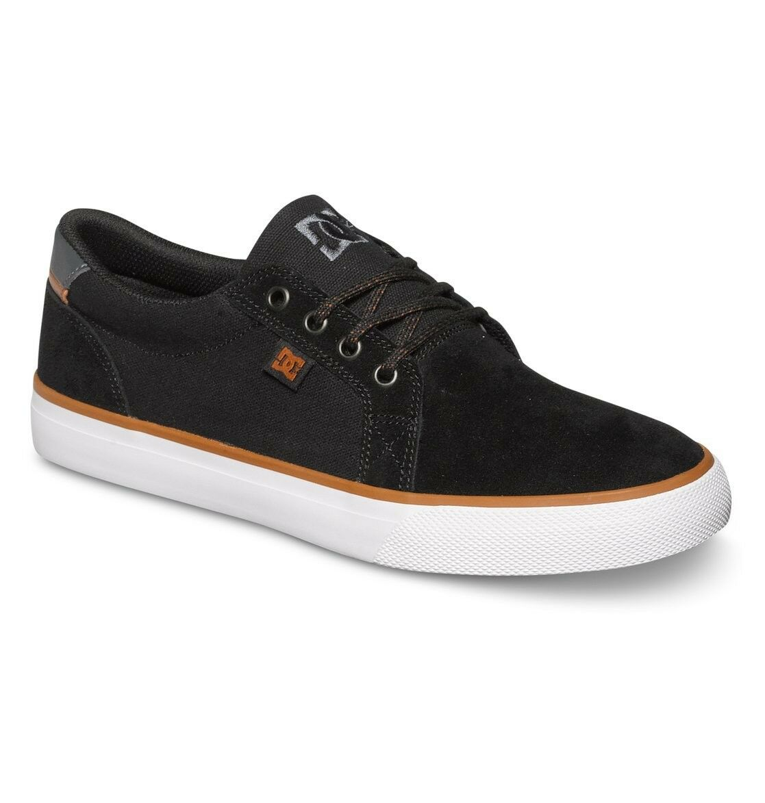 Neu DC Shoes Council SD Leder Sneakers Skaterschuhe Turnschuhe black schwarz