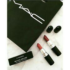 MAC Black Matte Lipstick