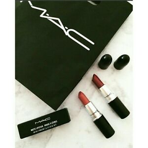MAC-Black-Matte-Lipstick