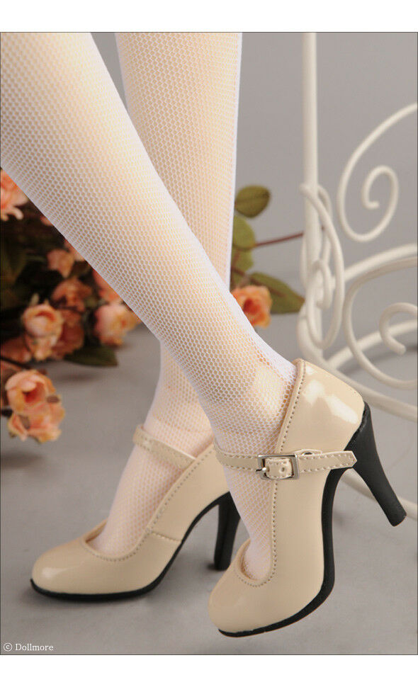 Brand New   New Model Doll F High Heel schuhe - Basic schuhe (Enamel Beige) 938992