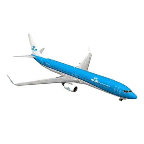 1:100 Boeing 737 Aircraft Dutch Airlines 3D Paper Model DIY Handmade Toys*QE