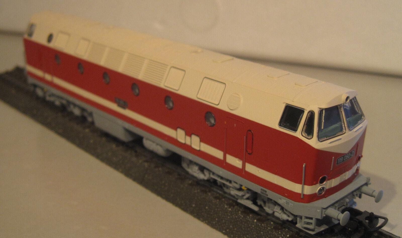 Piko 59930 H0 Diesellokomotive BR 119 060-2 der DR NEU-OVP  | Kompletter Spezifikationsbereich