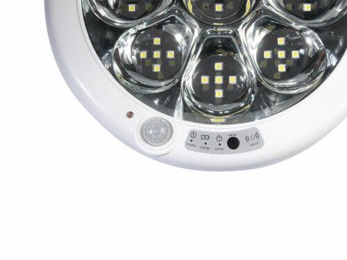 LED Deckenleuchte Deckenlampe Lampe Bewegungsmelder PIR Sensor Warmweiß 9W Akku