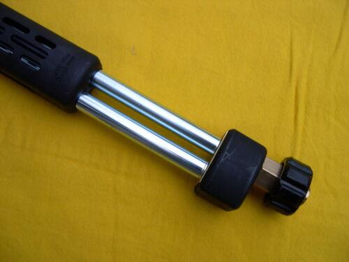 Flexibles Strahlrohr Lanze 850mm für Kärcher Nilfisk Kränzle WAP verstellbar